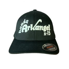 Arkangel Black with White Logo Flexfit - Front
