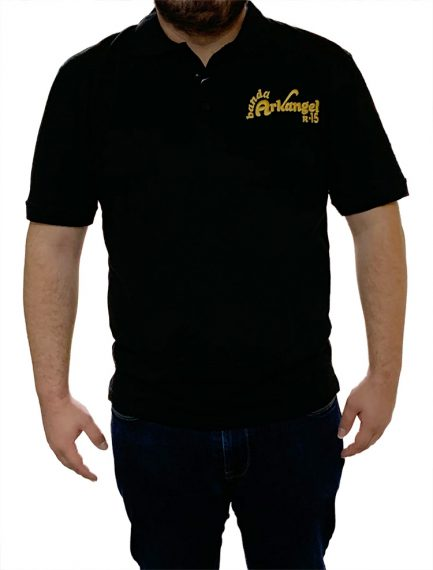 Black Arkangel Polo Shirt