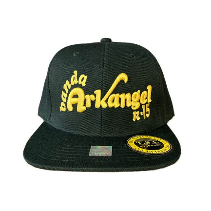 Arkangel Black with Gold Logo Snapback