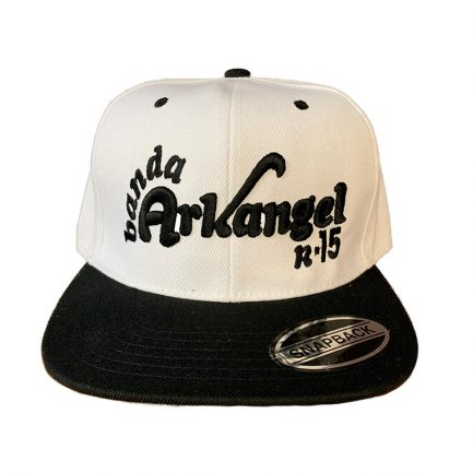 Arkangel Black and White Snapback
